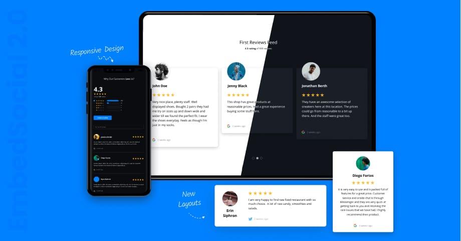reviews widgets