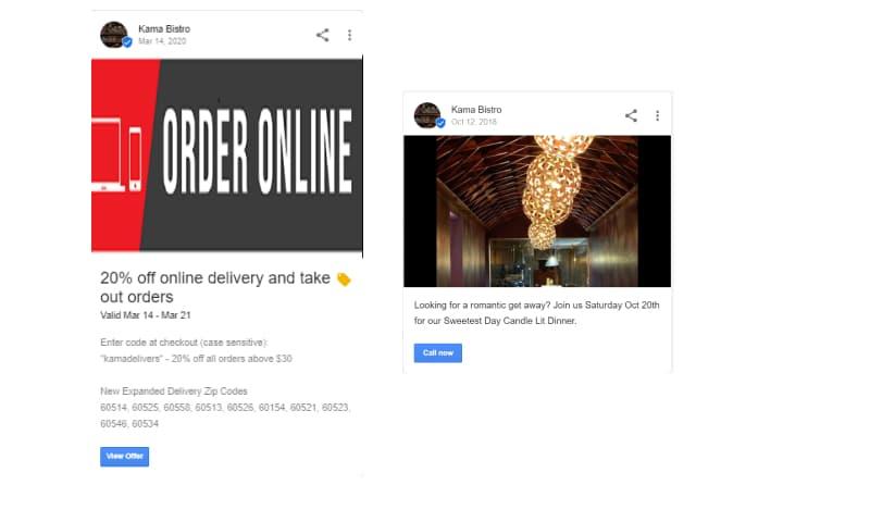 Google post example 3