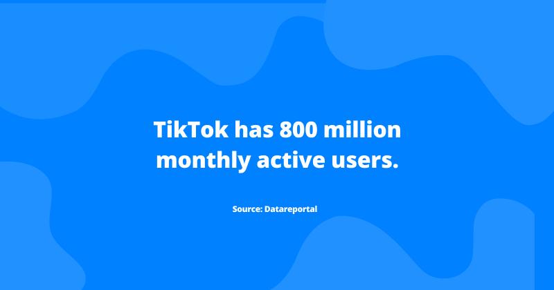 TikTok users statistic