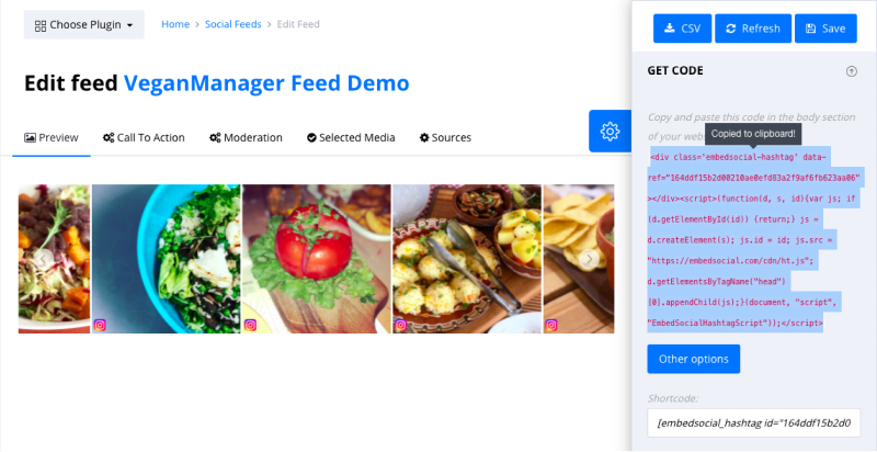 social media aggregator tool feed