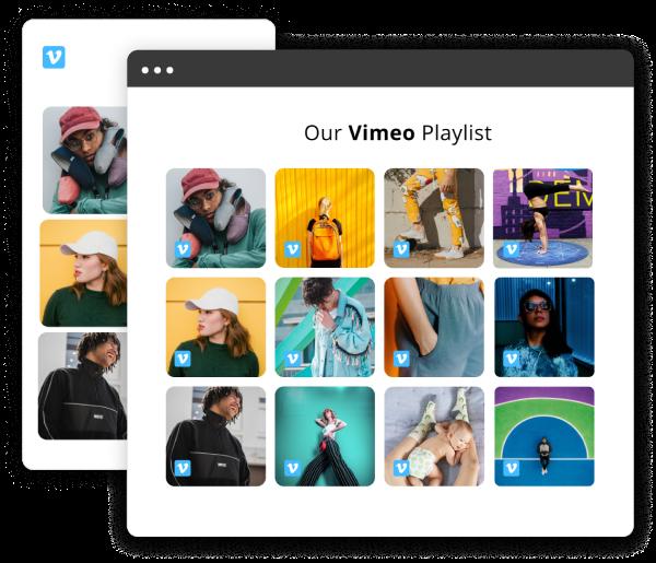 embed vimeo widget