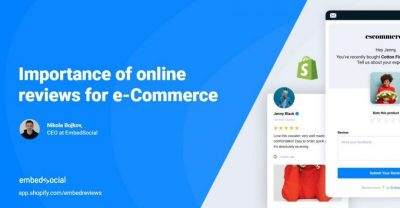 importance of online reviews, ecommerce, webinar, embedsocial