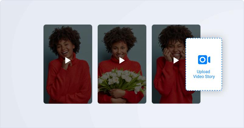 video stories widget