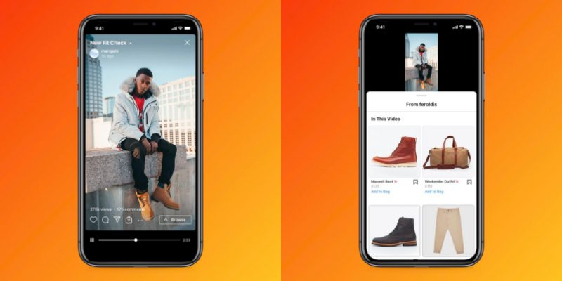 IGTV shopping, instagram new shopping option
