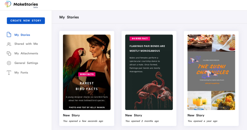 story creator tool