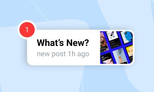what's new widget