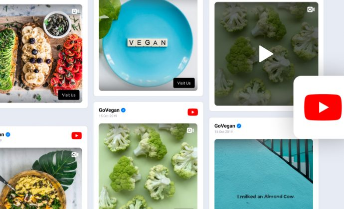 embed youtube hashtag widget