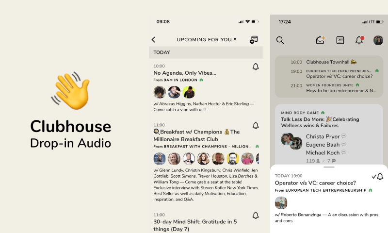 clubhouse new social media app