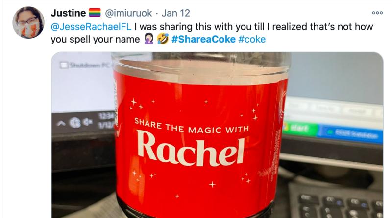 hashtag campaign by coca cola