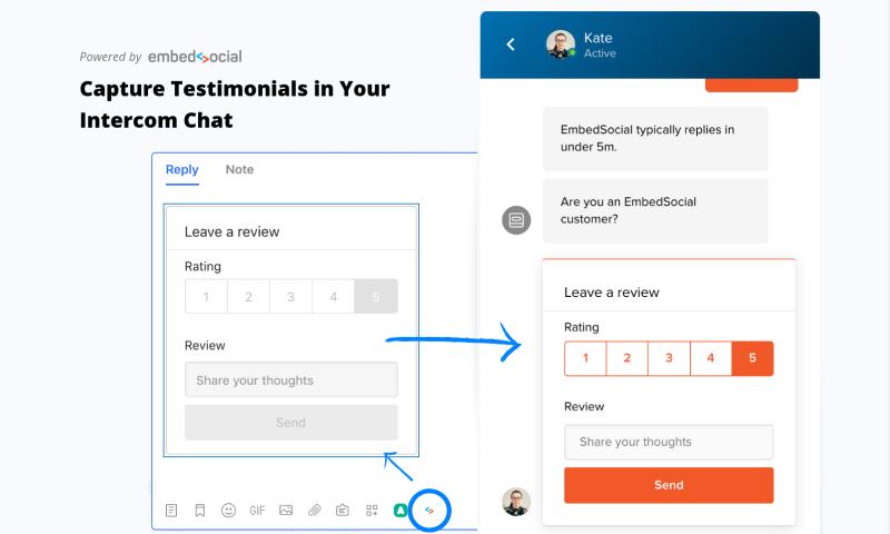 capture reviews intercom chat