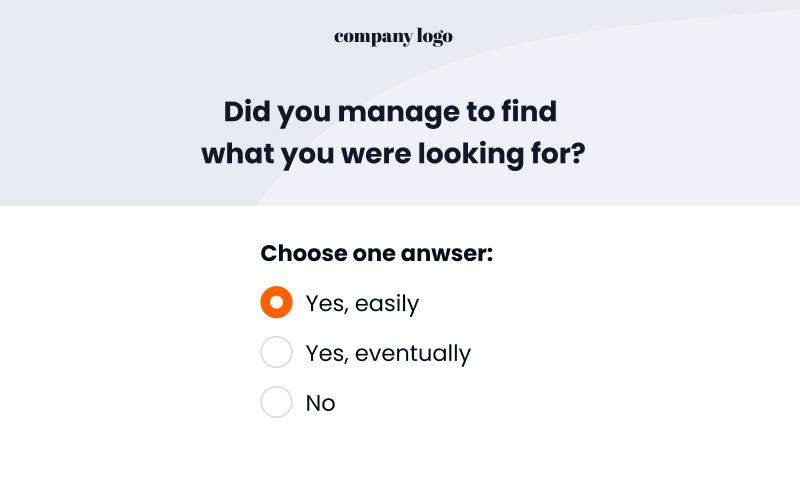 usability survey template