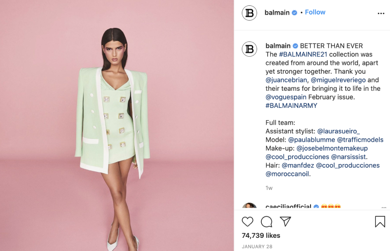 fashion industry instagram marketing tips