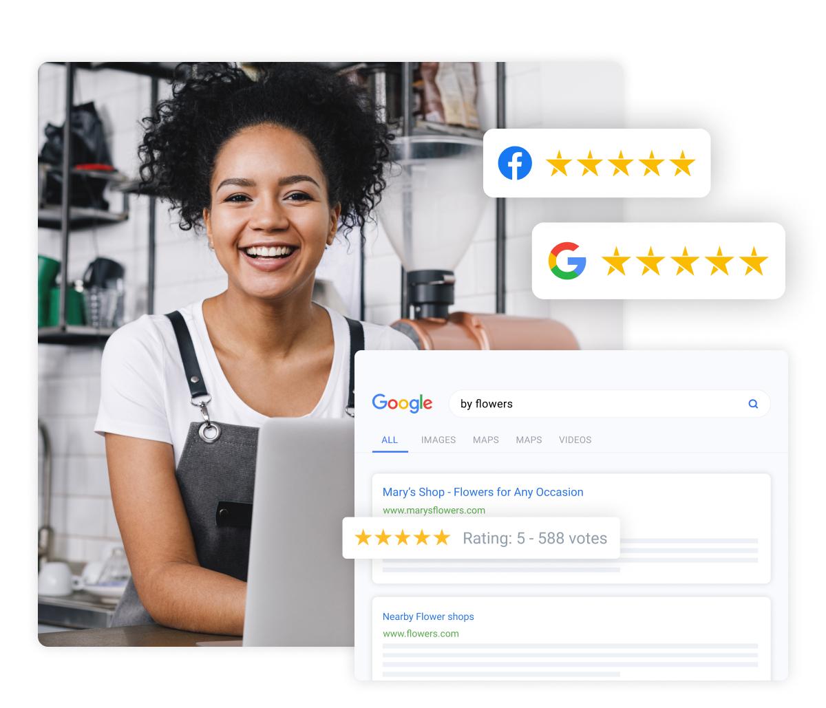 social media reviews platform