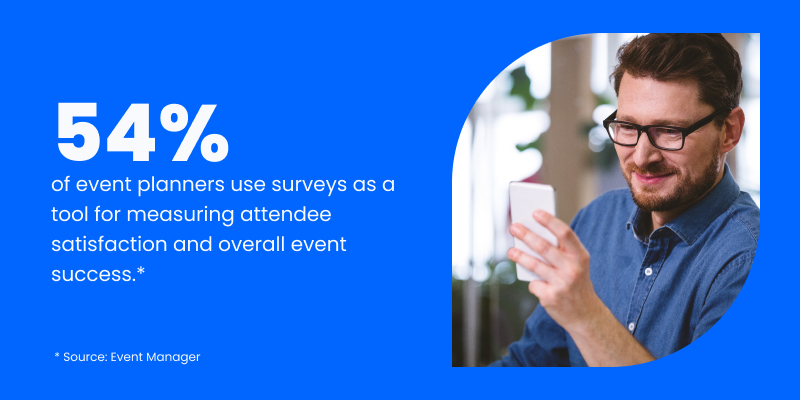 statistics for event survey