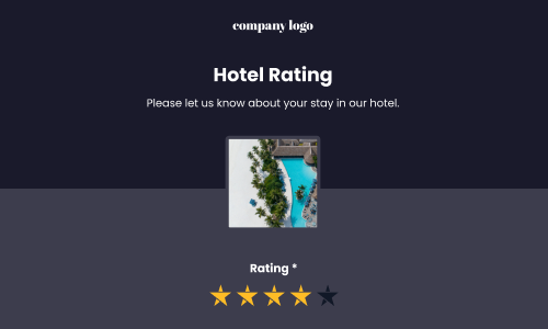 template for hotel feedback form