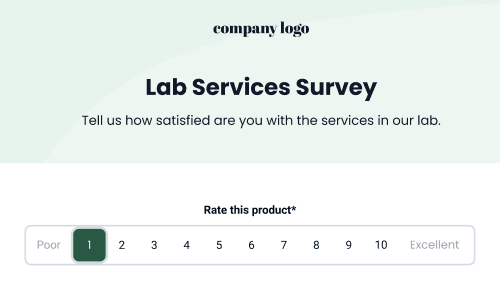 lab feedback form template