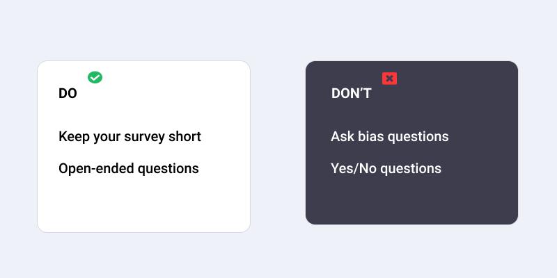 restaurant survey best practices