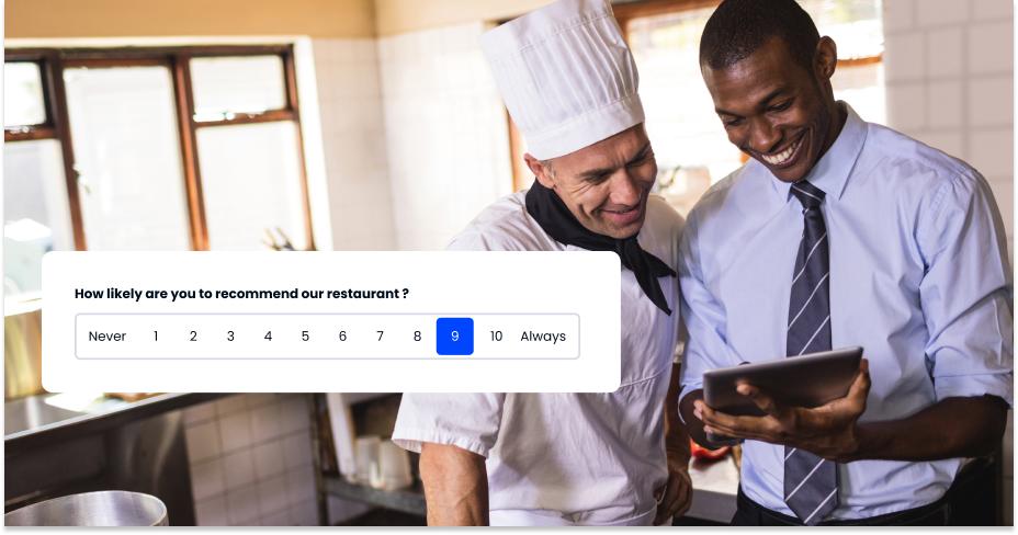 questions for restaurant survey
