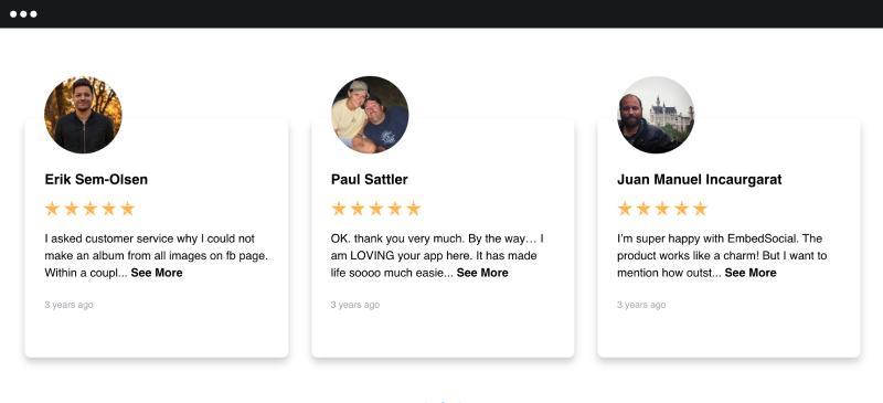 display reviews