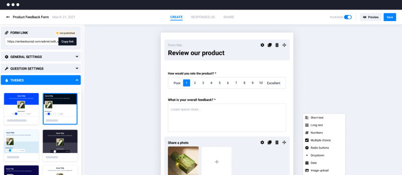 forms by embedsocial