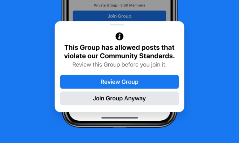safe features for facebook groups