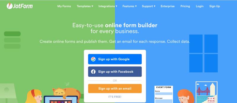 form builder jotform