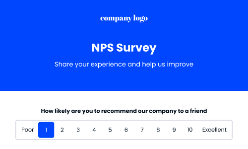 nps template form