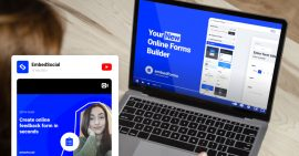 embed youtube video channel